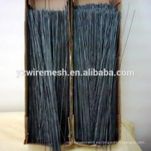 China de alto rendimiento y la calidad de corte recto de alambre recocido negro