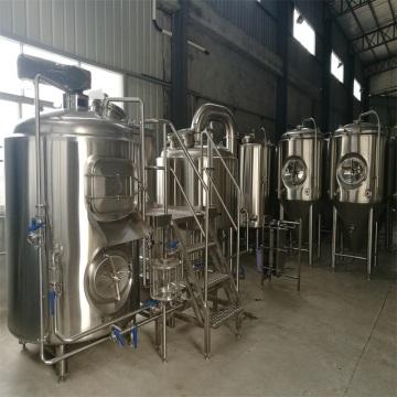 Aço inoxidável de Brewhosue da embarcação da cervejaria 1000L 2
