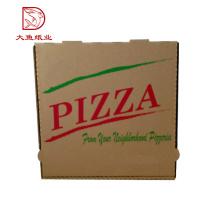 Oem exterior popular venda quente barato papel ondulado caixa de embalagem de pizza