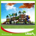 City Park Games Outdoor Playground Equipment with Plastic Slides, Kids Outdoor Playground Games