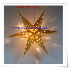 Wholesale Hanging LED Paper Lanterns for Christmas Decoration or Gift