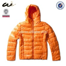 light fashion down jacket;classic jacket for woman;bright basic down jacket