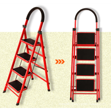 Step Ladders Structure and Industrial Ladders Type Step Ladder