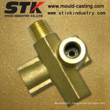 Brass Forging Part with CNC Machining (STK-BF-0417)