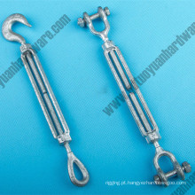 Gota Forged Aço Carbono Turnbuckle Us Tipo Turnbuckles Fabricante