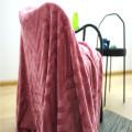 Hautfreundliche Heimtextilien Polyester Coral Fleece Decken