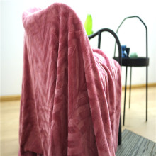 Skin-friendly Home Textiles Polyester Coral Fleece Blankets