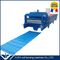 Africa popular glazed roof tile roll forming machine