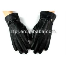 Moda guantes de cuero baoding de encaje delgado