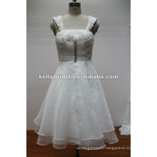 Exquisite Handmade Flower Organza Bridesmaid Dress for Wedding