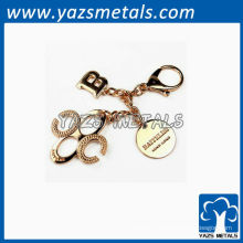 Fabricant de porte-clés en métal 3D personnalisé