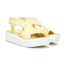 Women's  rope sandals slip on thick bottom flat sandals for women summer 2021 new arrival shoes