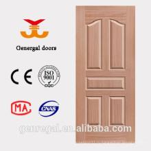 Интерьер дешевой цене ХДФ древесины отливая в форму дверь
