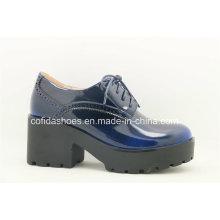 Zapato de señora de tacón alto con estilo de la comodidad de la manera
