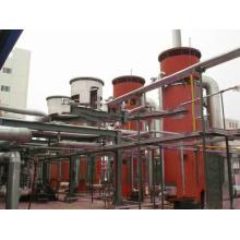 Caldeira vertical de óleo quente acionada a gás de petróleo