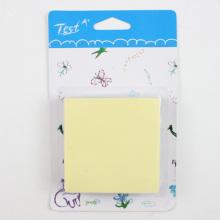 Amarillos lindos notas adhesivas