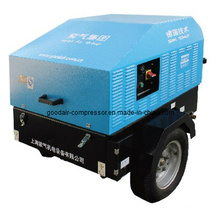 High Quality Portable Diesel Compressor 45kw 7bar