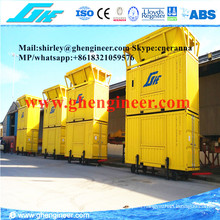 Wheel Mobile Weighing and Bagging Machine Ce