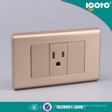 Receptáculo de tipo Golden Color 118 para o mercado do Peru
