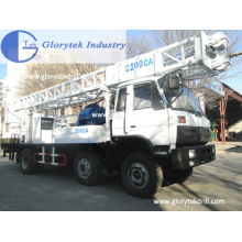 Buena reputación C600clca Camión montado en plataforma de perforación