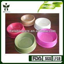 Bol d'eau pour animaux de bambou