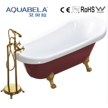 Классическая горячая ванна европейского стиля Clawfoot (JL622)