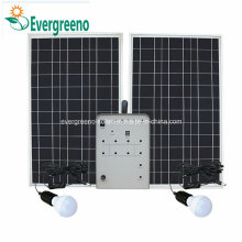 Mini Solar Power Generator for Lighting System