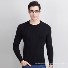 best design computer knitting 12gg keep warm v neck men sweater