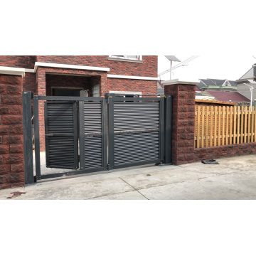 Four Panel Aluminum Alloy Swing Gate for Home with Qg- P1782