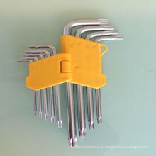 Ключ КР-V шестигранный набор Звезда головы среднего lenth