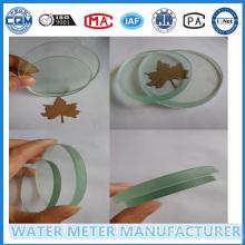 Alto vidrio transparente para el uso del medidor de flujo de agua
