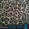 fashionable leopard printed polar fleece