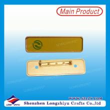 Пустой магнитной Бейдж металлический Бейдж с логотипом печать