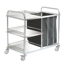 Stainless Steel Medical Trolley with Bag for Dirty Goods (SIT-01)