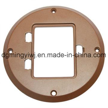 Pièces en fonte d'aluminium de haute qualité avec aspect argenté Fabriqué en usine de Mingyi