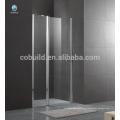 K-536 Foshan último diseño de la puerta de la bisagra de la sala de ducha con 6 mm 8 mm cristal claro diseño simple ducha de vidrio
