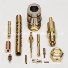 Präzisions-Drehbearbeitungsteil Messing CNC