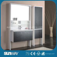 Горячая продажа мебели для ванной комнаты Melamin с раковиной