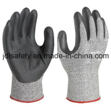 Cortar a luva protetora com espuma preta nitrilo (NDF8032)
