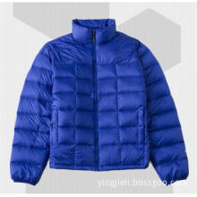 men\'s duck down jacket -dark blue D-11031