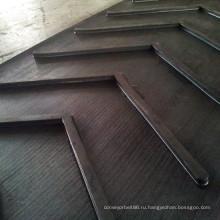 Шеврон шаблон ленточный конвейер