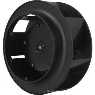 133 mm diámetro AC ventiladores centrífugos con mantenimiento rodamientos de bolas