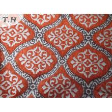 Tejido de tapicería Jacquard con chenilla Made in China