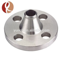 Brida de titanio de alta calidad del cuello de la clase 150 que cabe el reborde de titanio de la soldadura