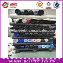Une catégorie TC 65/35 tissu de poche plaine poplin alibaba chine TC 65/35 tissu de stock lot popeline