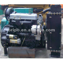 CE & EPA approved water cooled 4 cylinders yongdong diesel engine 15kva generator set