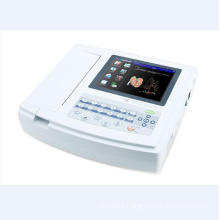 High Quality Big Digital Screen ECG Electrocardiagraph Equipment with 12 Leads