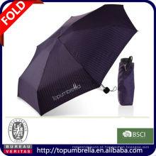 Guarda-chuva 2014 de dobramento da bolsa 5 da promoção
