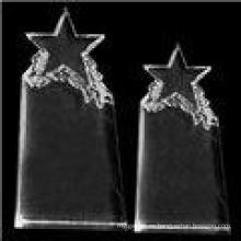 Nueva moda Crystal Star Trophy