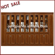 directly selling high quality wooden bookcase factory with cheap price